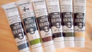 acrylic paint アクリル絵の具 アクリル 絵の具 用語 辞典